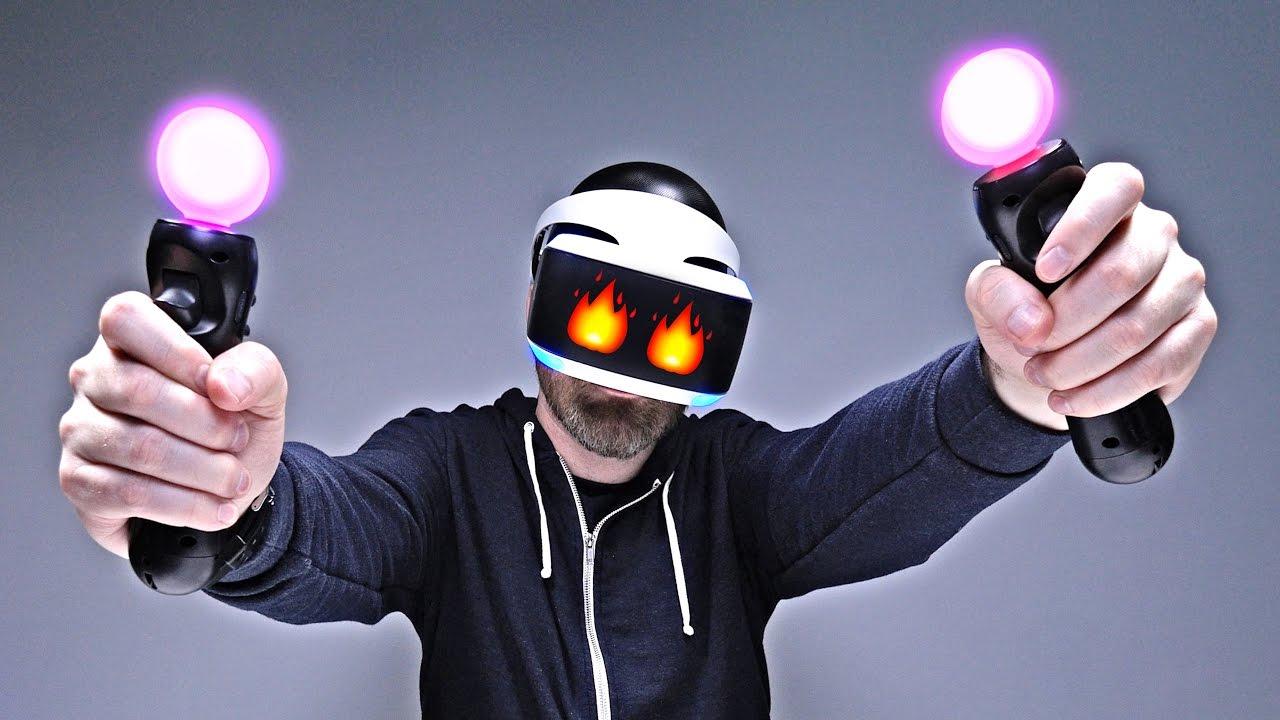 Playstation casque VR Test