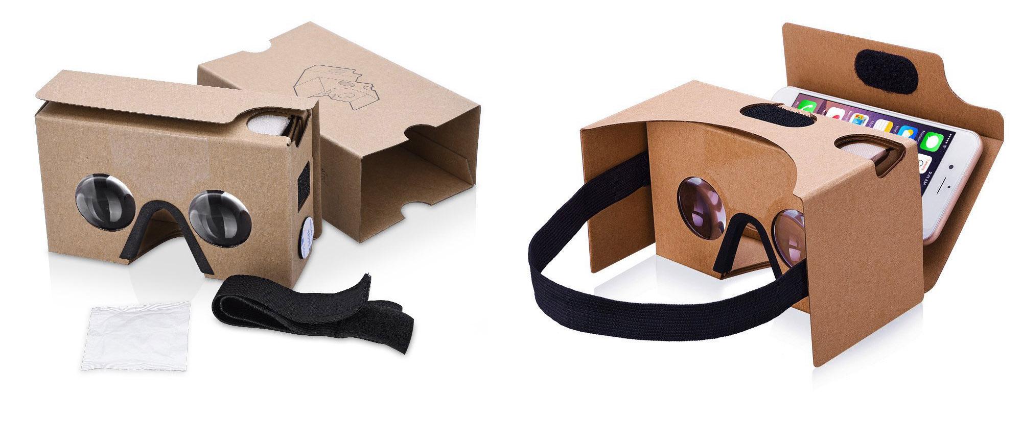 TopElek Dernière Google Cardboard Kit V2