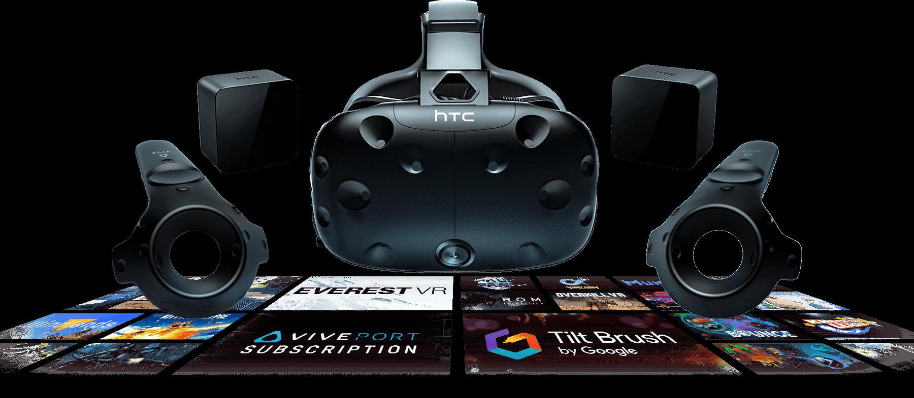 casque de réalité virtuelle htc vive présentation