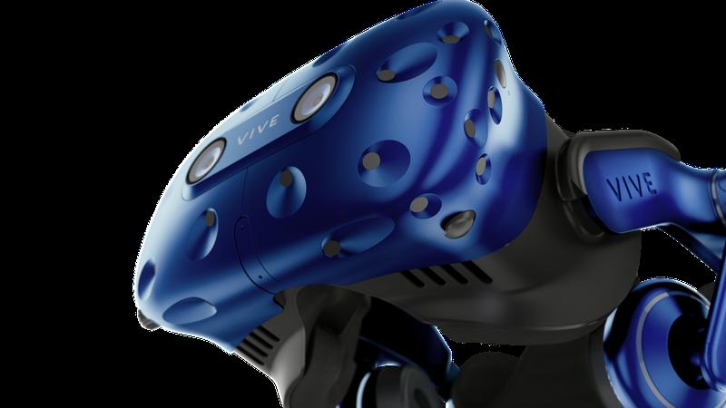HTC VIVE Pro - vue de face