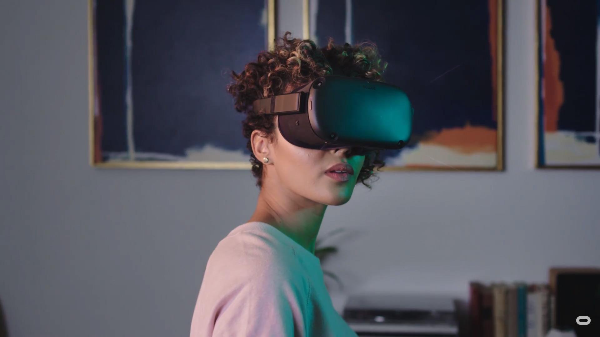 Annonce d'un nouveau casque VR - l'Oculus Quest - Oculus KeyNote