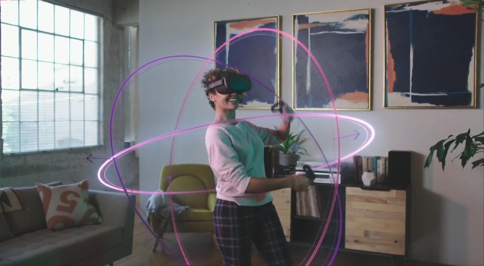 casque VR autonome - l'Oculus Quest