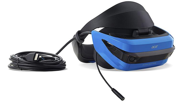 Acer - Casque de Réalité Virtuelle Bleu