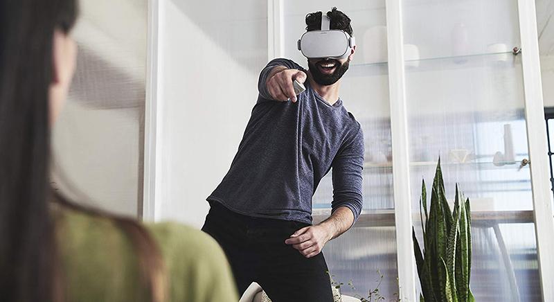 Oculus Go Casque de Réalité Virtuelle - Casque VR - test de la manette