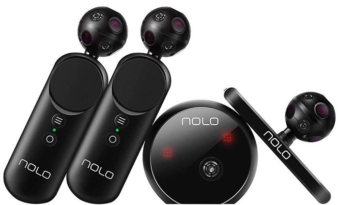 Test des Manettes et Détecteur de mouvements NOLO pour Casque ou Lunettes de Réalité virtuelle