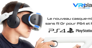 casque Sony PlayStation VR
