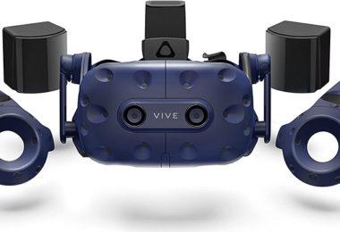 Test HTC Vive Pro Complete Edition - Casque de réalité virtuelle - kit VR complet