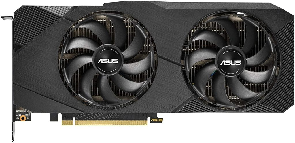Asus Dual NVIDIA GeForce RTX 2070 Mini OC Edition Carte graphique Gaming RTX 2070