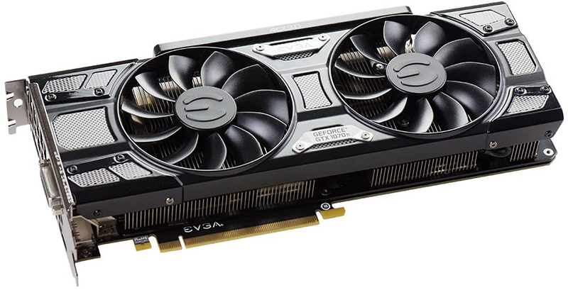 EVGA GeForce GTX 1070 Ti SC GAMING ACX 3.0 Black Edition