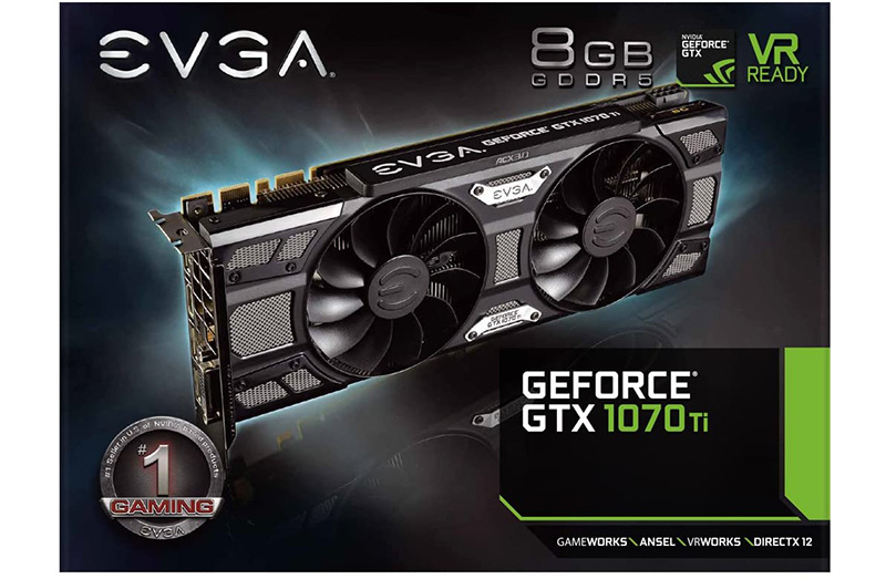 Test EVGA GeForce GTX 1070 Ti SC GAMING ACX 3.0 Black Edition